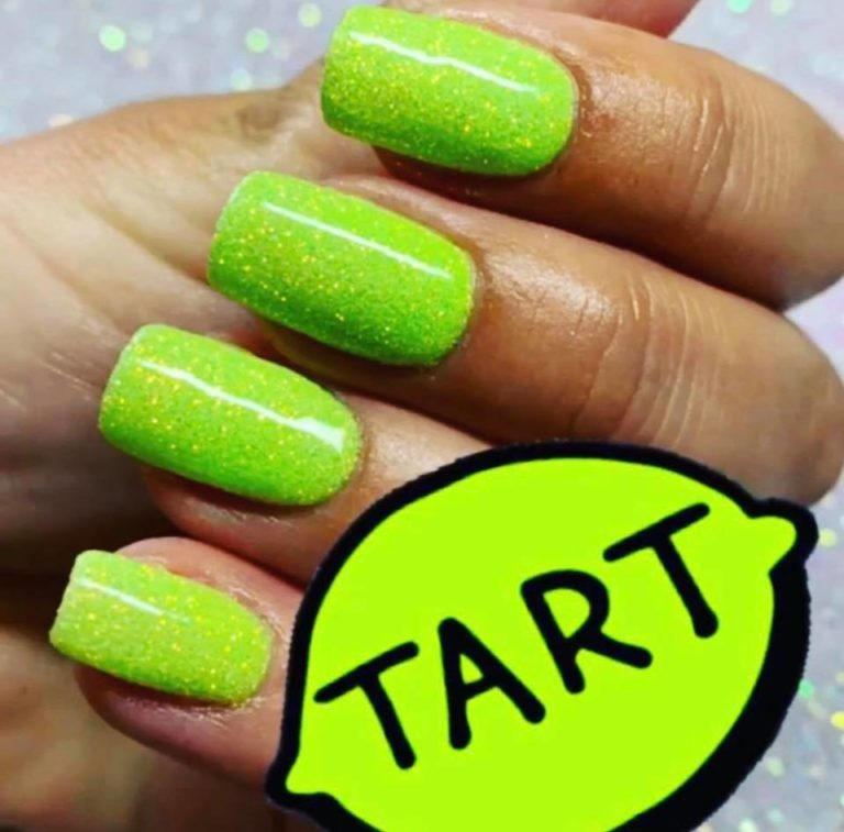 Juicy Lime Nails