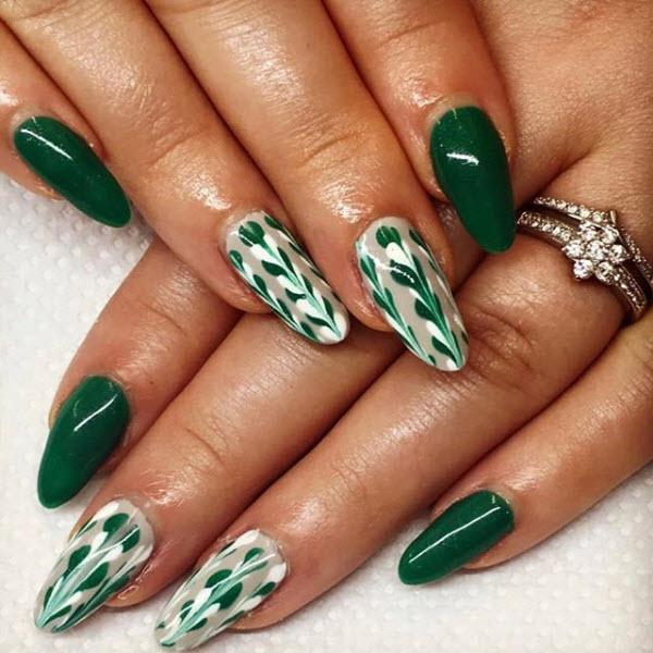 Marbled Green Hues
